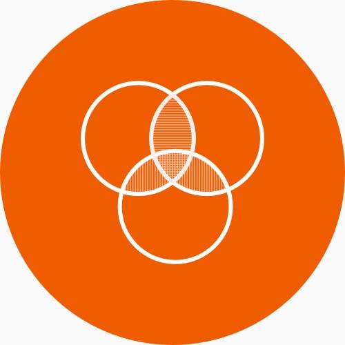 Círculos integrados